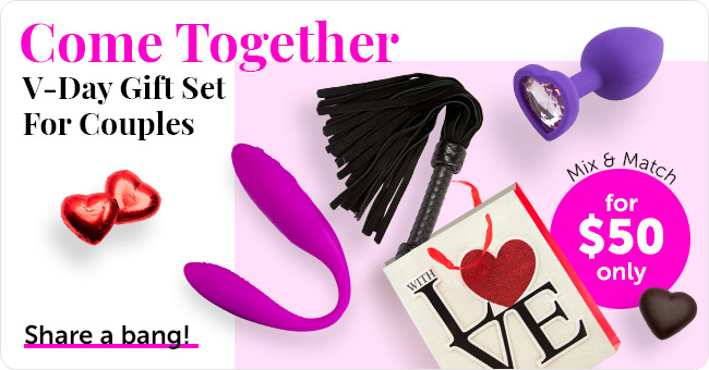 Get V-Day Gift Set For Couples for $50 Only
