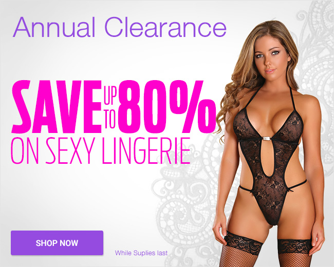 Save Up To 80% On Sexy Lingerie