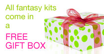 All fantasy kits come in a free gift box