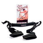Sex sling black neoprene