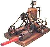 First steam-powered vibrator (1869)