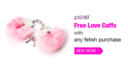 Free Love Cuffs with any fetish purchase