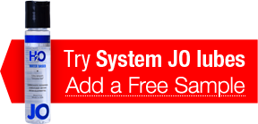 Try System JO lubes - Add a Free Sample