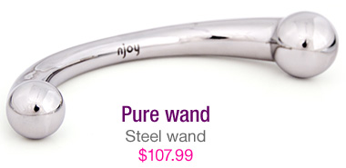 Pure wand - steel wand - $107.99