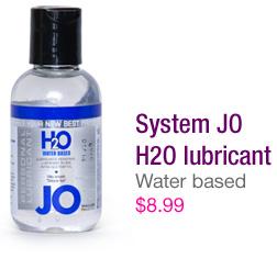 System JO H2O lubricant - $8.99