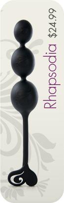 Rhapsodia � anal balls, $24.99