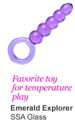 Favorite toys for temperature play - Emerald explorer