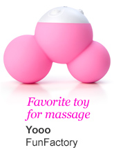 Favorite toy for massage - Yooo