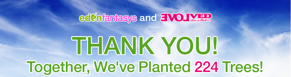 Thank you! Together, we'ver planted 224 trees!