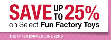 Save up to 25% on Select Fun Factory Toys