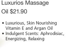 Luxurious massage oil - $21.90