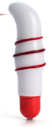 Candy Cane glass vibrator $32.99
