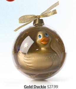 Gold Duckie $27.99