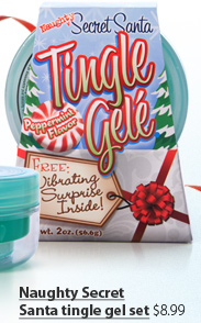 Naughty Secret Santa tingle gel set