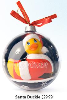 Santa Duckie $29.99