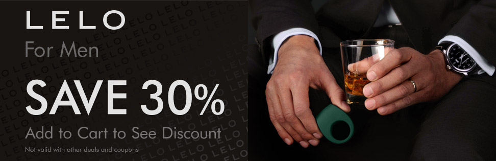 LELO for men - save 30%