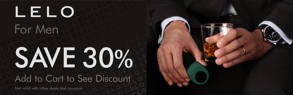 LELO for men - save 30%