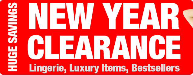 New Year Clearance. Huge Savings