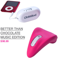 OhMiBod Better than chocolate music edition