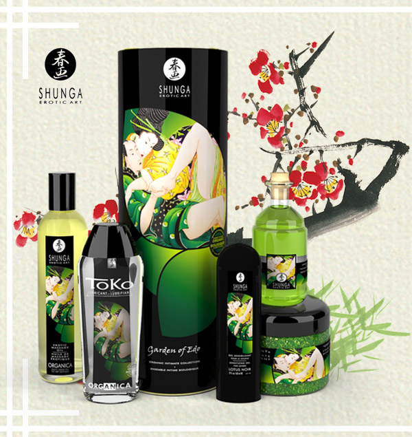 Shunga garden of edo organic collection