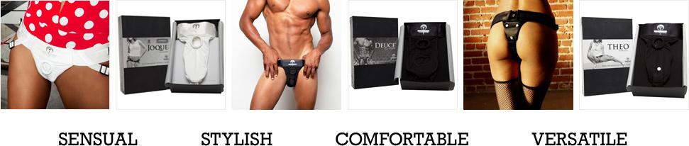 Sensual, Stylish, Comfortable, Versatile