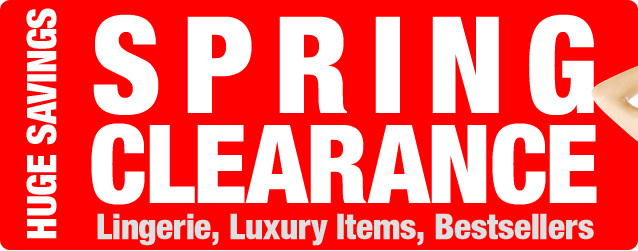 Spring Clearance. Huge Savings