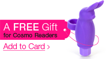 Free gift for Cosmo readers