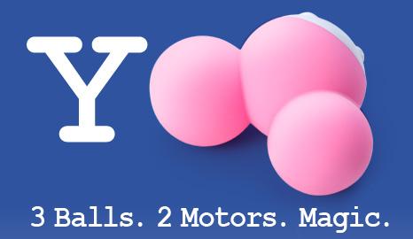 Yooo. 3 Balls, 2 Motors. Magic