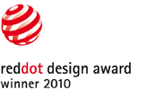 Reddot design award winner 2010