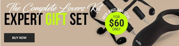 The Complete Lovers Kit! Expert Couples Gift Set For $60v