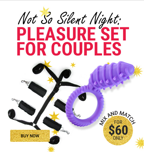 The Complete Lovers Kit! Expert Couples Gift Set For $60
